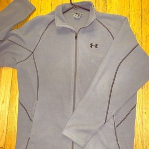 Men's Underarmour Fleece Zip-up